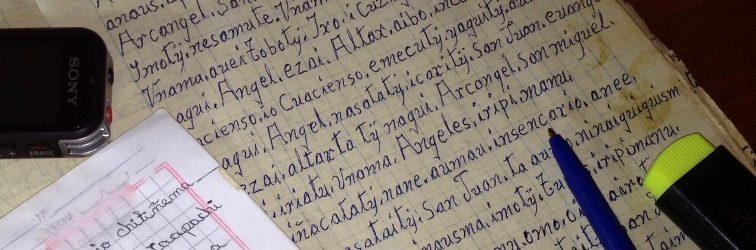Proyecto de recopilación de sermones chiquitanos
